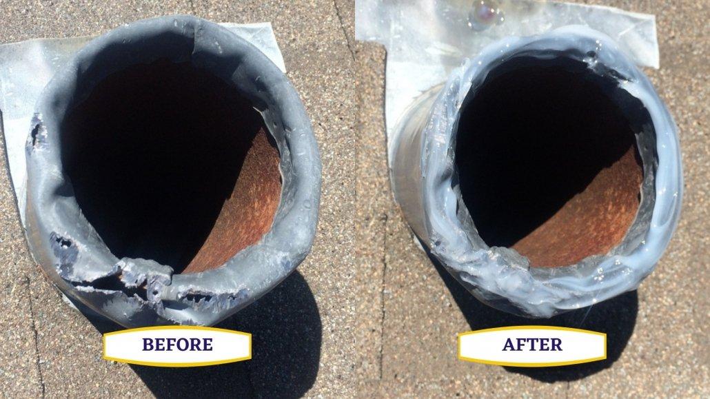 Lead Flashing Repair